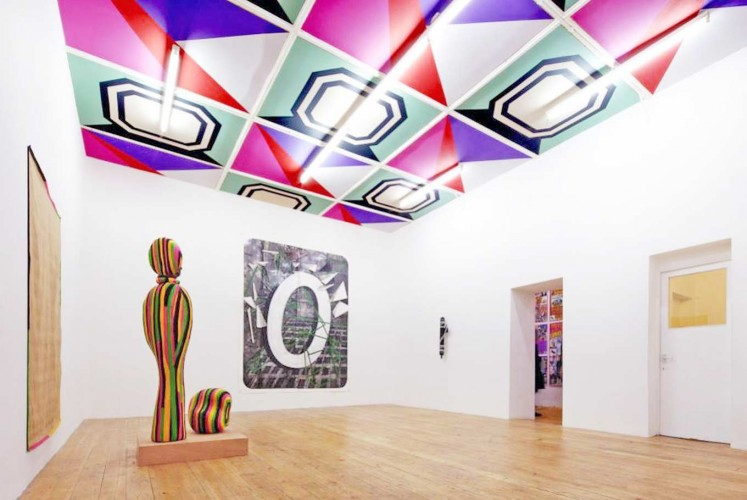 Gentlemen Prefer Blondes (ceiling, 2011), Nunnery Gallery, London; group show for Apocalypstick.