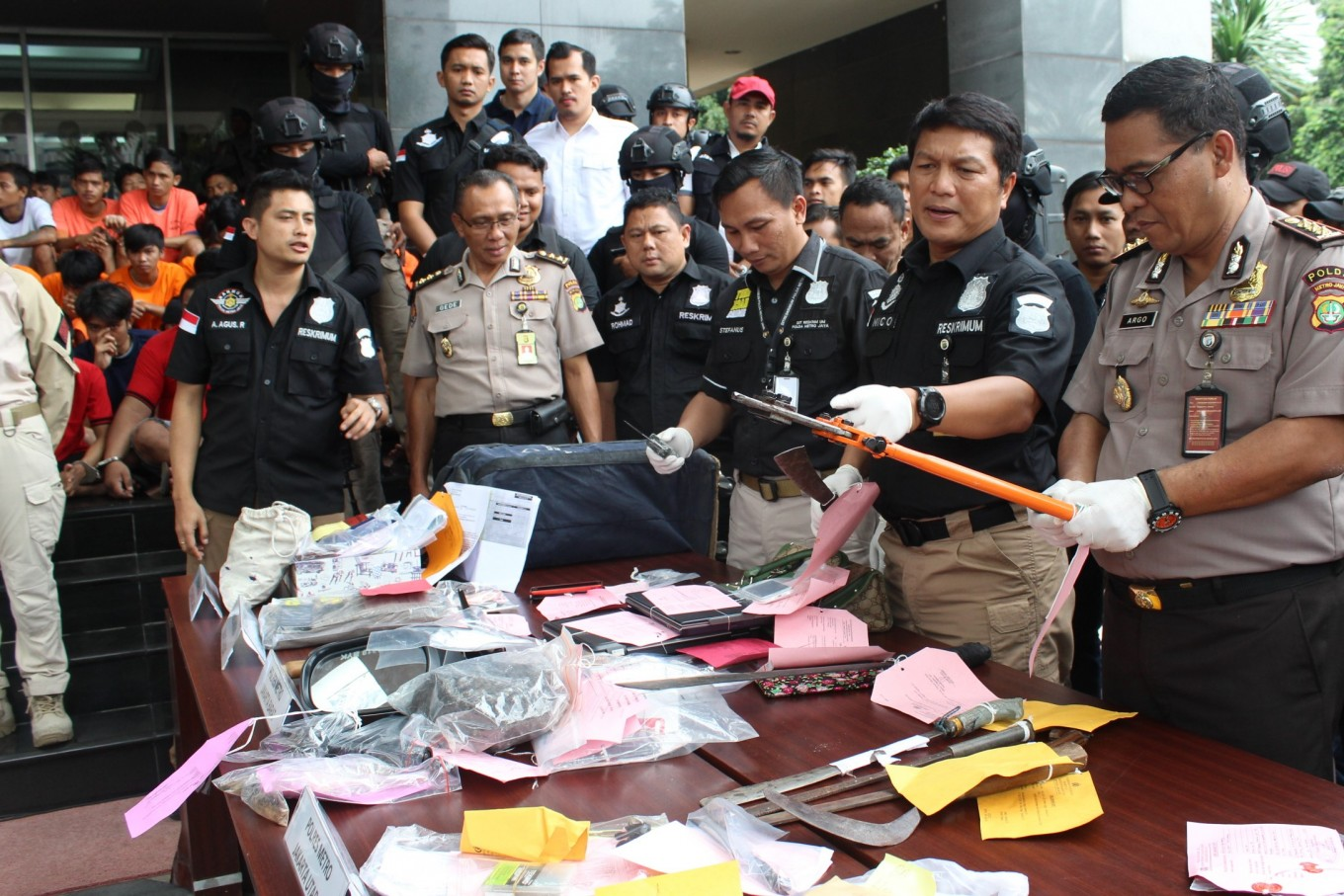 Former Jakarta Police chief named treason suspect