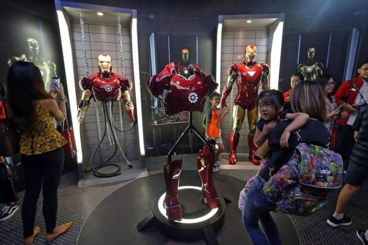 Marvel 4D cinema and figures at Madame Tussauds Singapore