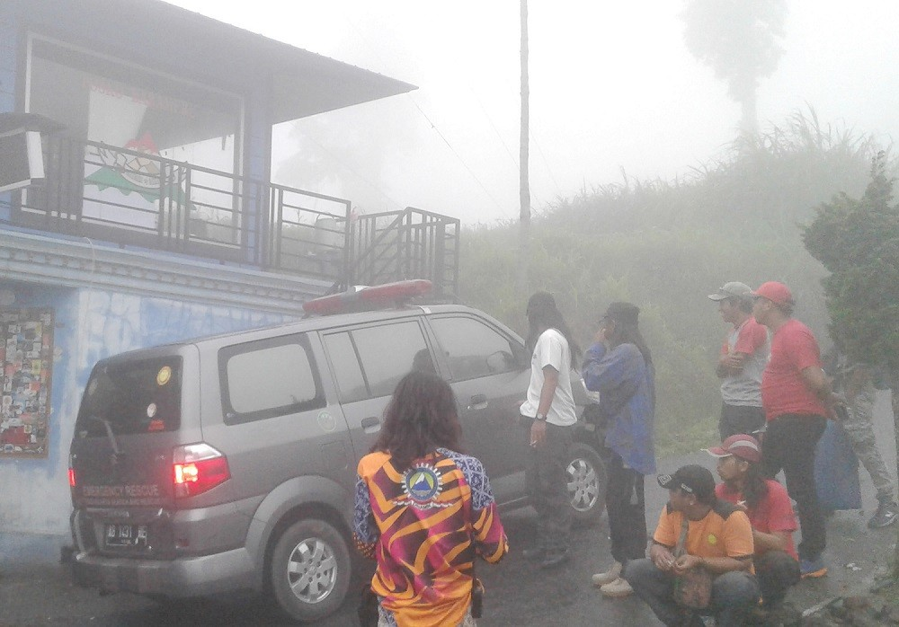 Two missing hikers on Mt. Merapi found
