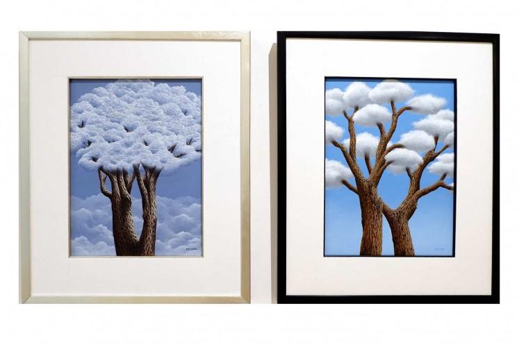 Cloud Tree I and Cloud Tree II