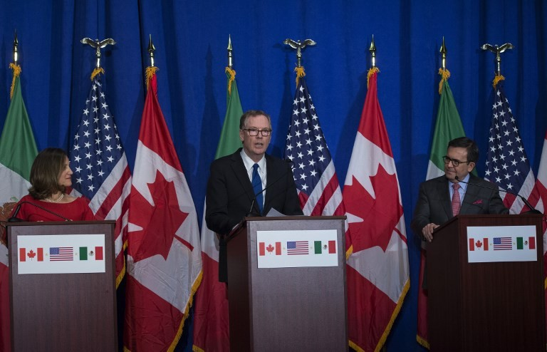 US wants no mention of `Climate Change' in new Nafta