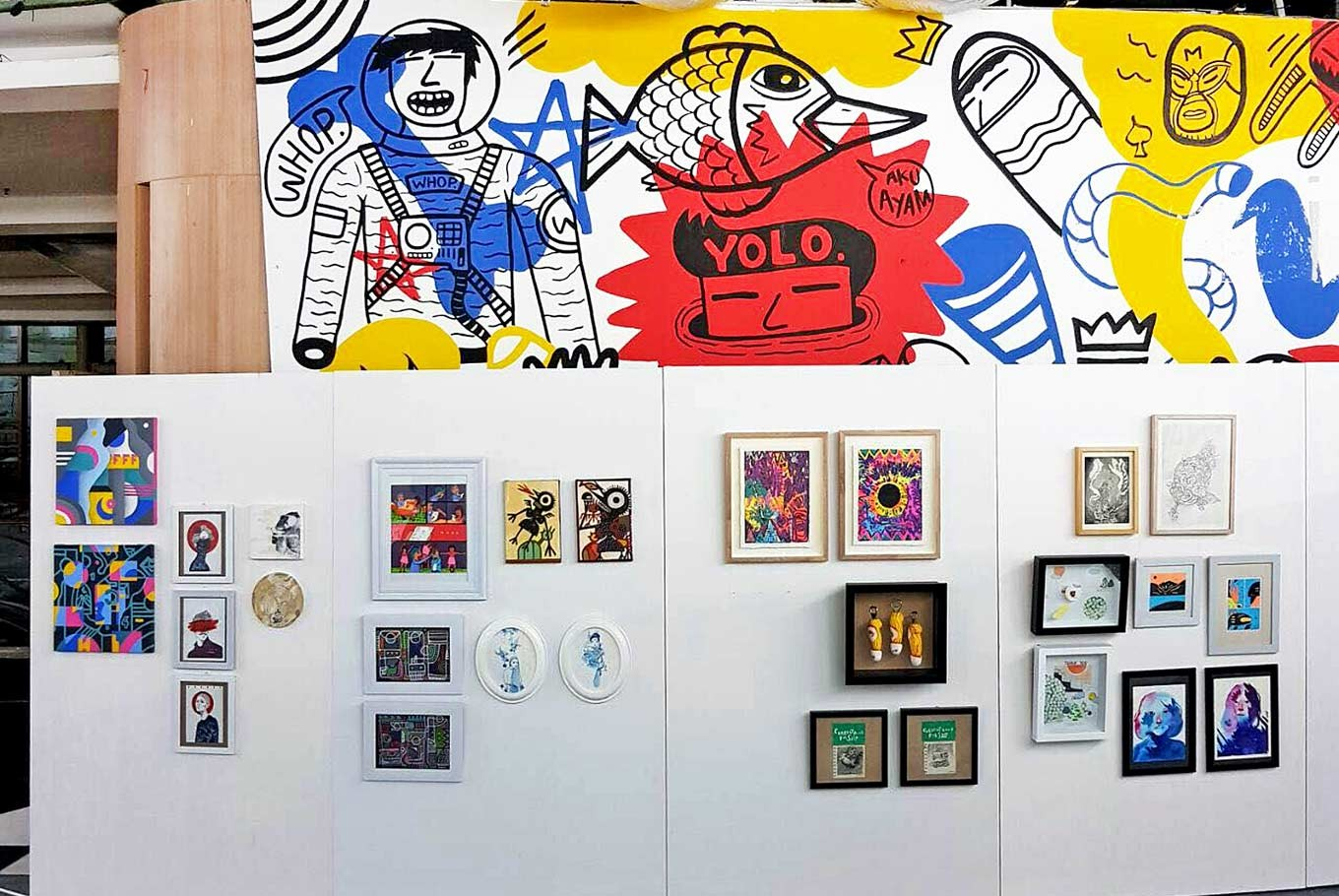 Artists leave Instagram to sell art with heart