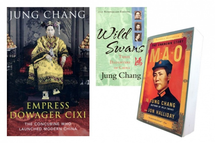 Books by Jung Chang.