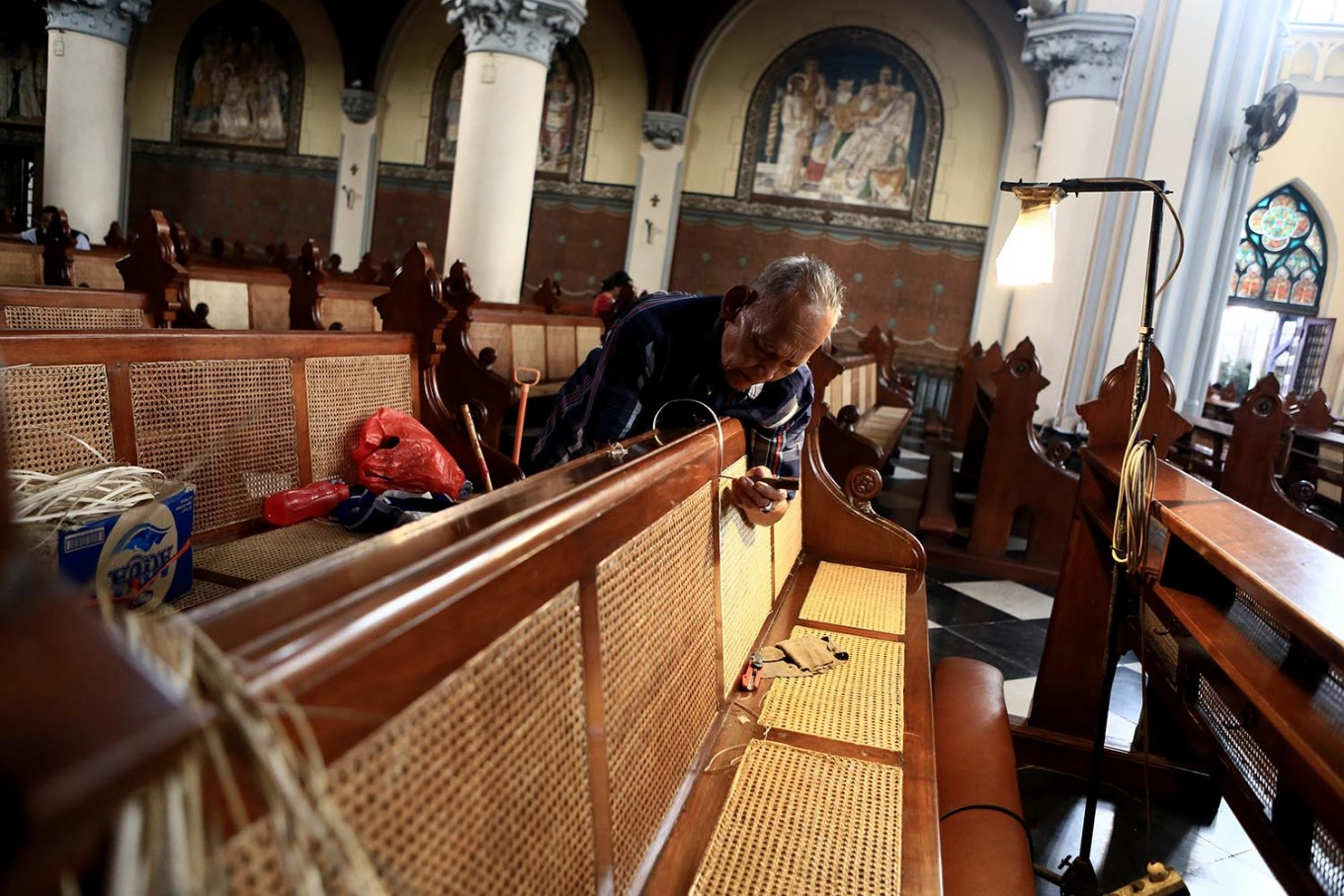 Security heightened in Medan churches ahead of Christmas