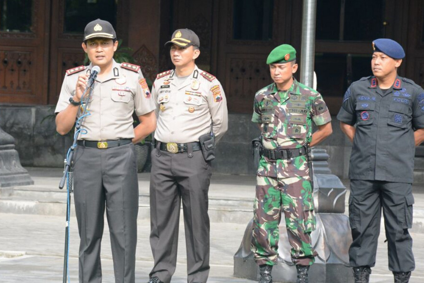 Police to safeguard 188 churches in Surakarta