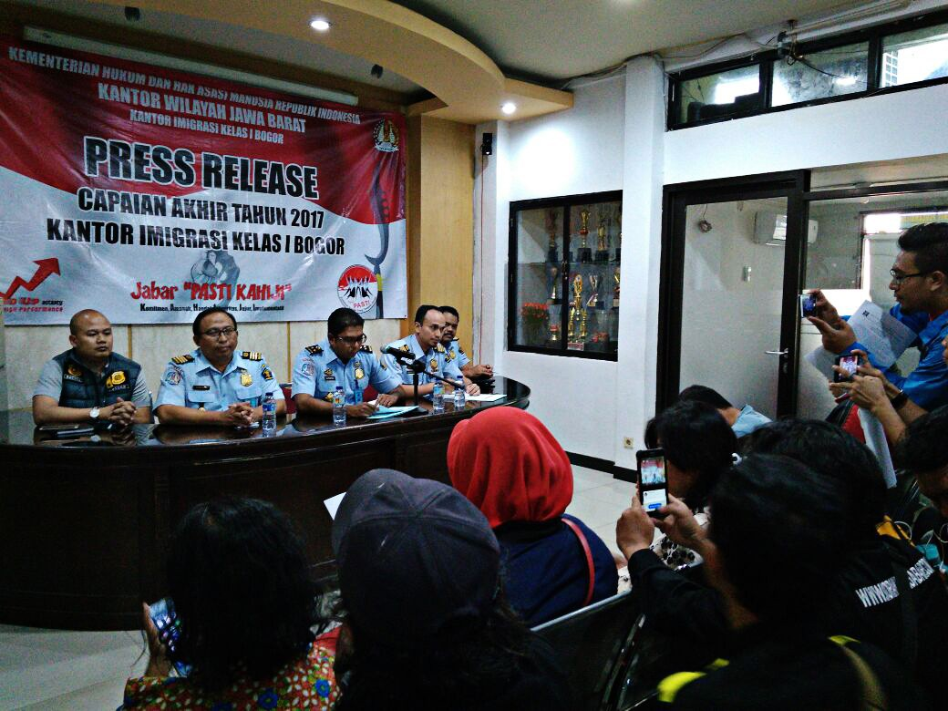 Bogor takes action against 110 foreigners with visa overstay