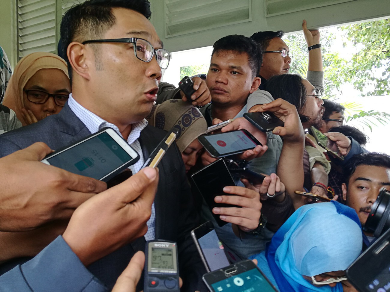 Ridwan Kamil to talk with PPP, PKB to decide running mate