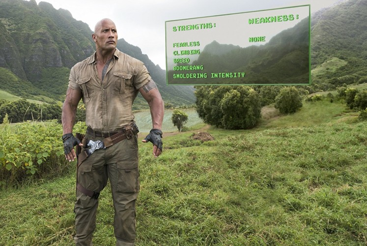 Dwayne Johnson stars as the unbeatable Dr. Xander Bravestone.