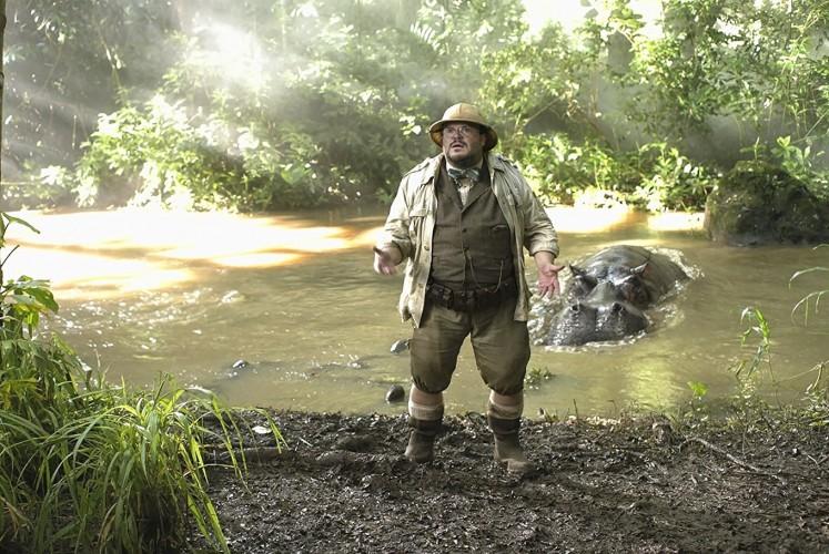 Jack Black as cartographer Prof. Shelley Oberon.