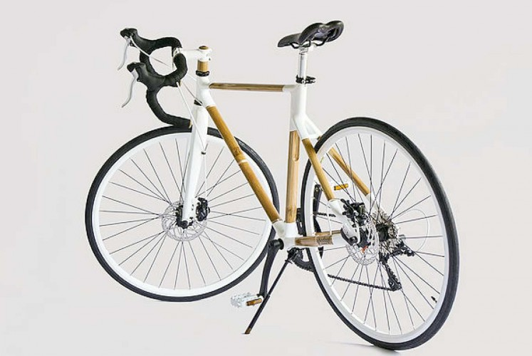 Spedagi bamboo bicycle designed by Singgih S. Kartono