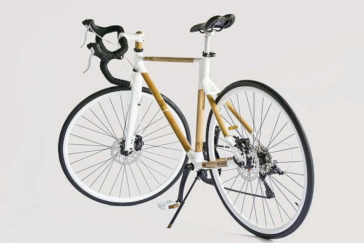 Spedagi bamboo bicycle designed by Singgih S. Kartono