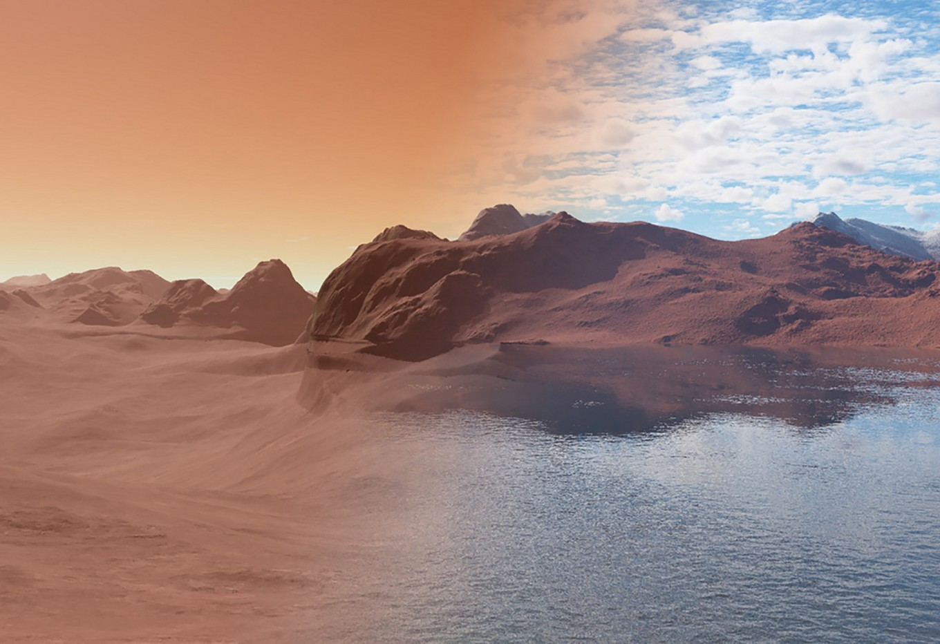 Thirsty rocks may contain the missing water of Mars