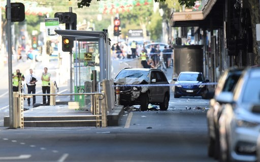 14 hurt as car driven into crowd in Melbourne: police