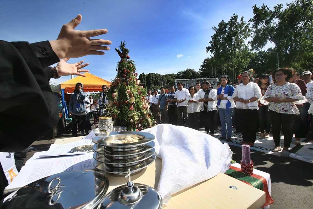 GKI Yasmin, HKBP Filadelfia hold another churchless Christmas celebration