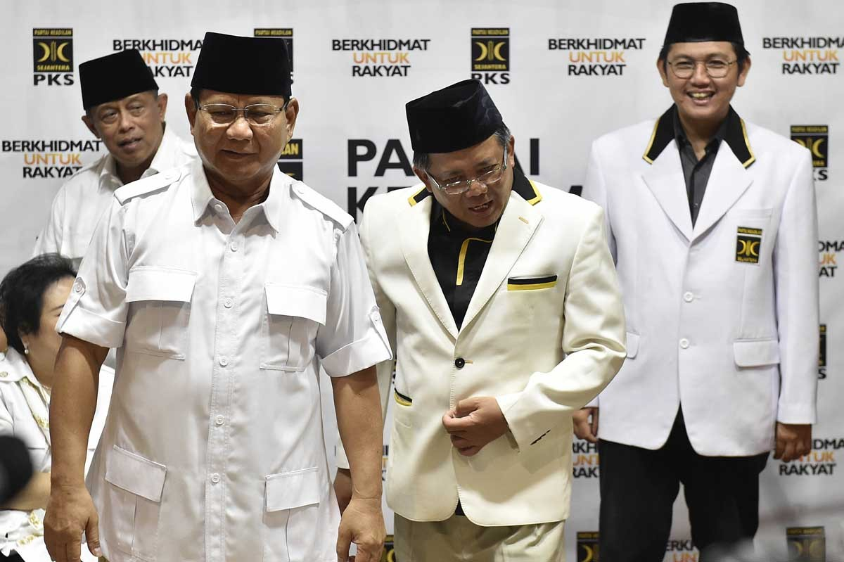 Ex-military chief in Yudhoyono era named Prabowo campaign head