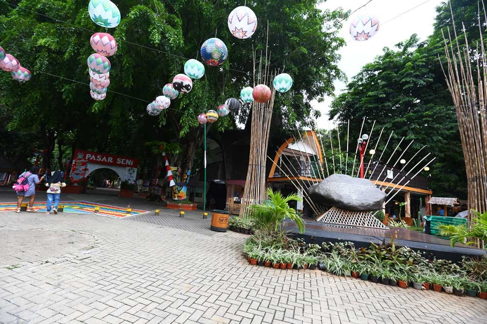 Ancol's Pasar Seni ups its profile with eco-market, art workshops for Independence Day