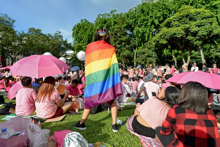 Gay rights: The taboo subject in Singapore's election