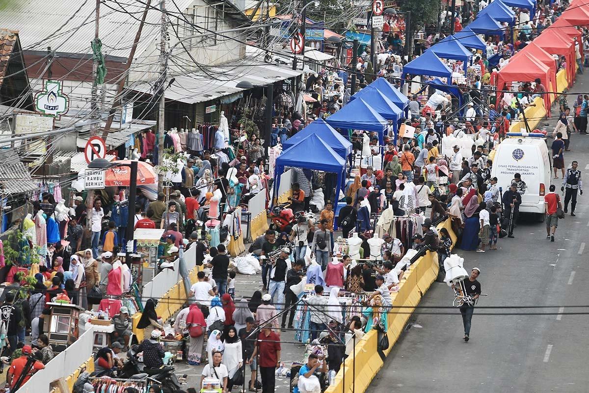 Tanah Abang road closure part of Anies' 'one-man show', councillor says