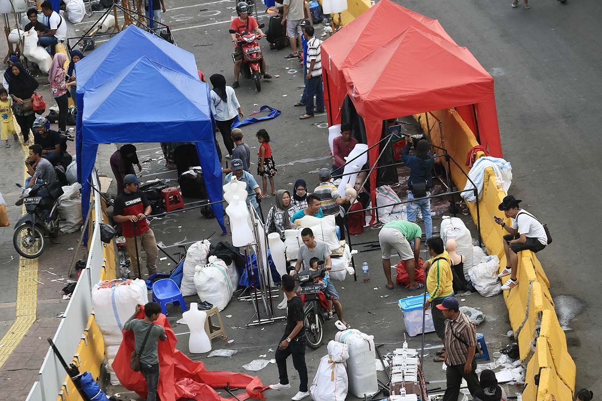 Ombudsman cites 'maladministration' in Tanah Abang road closure