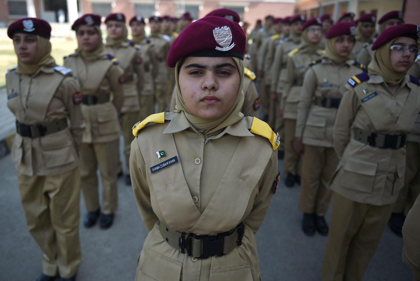 Pakistan's girl cadets dream of taking power
