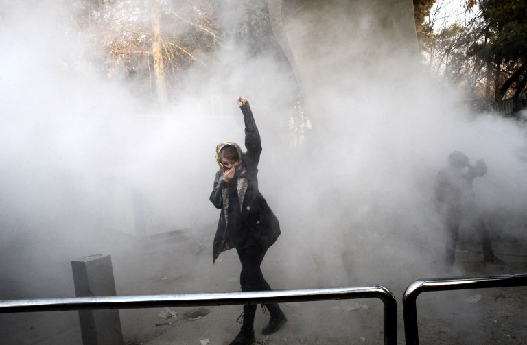 US targets Iran over deadly unrest