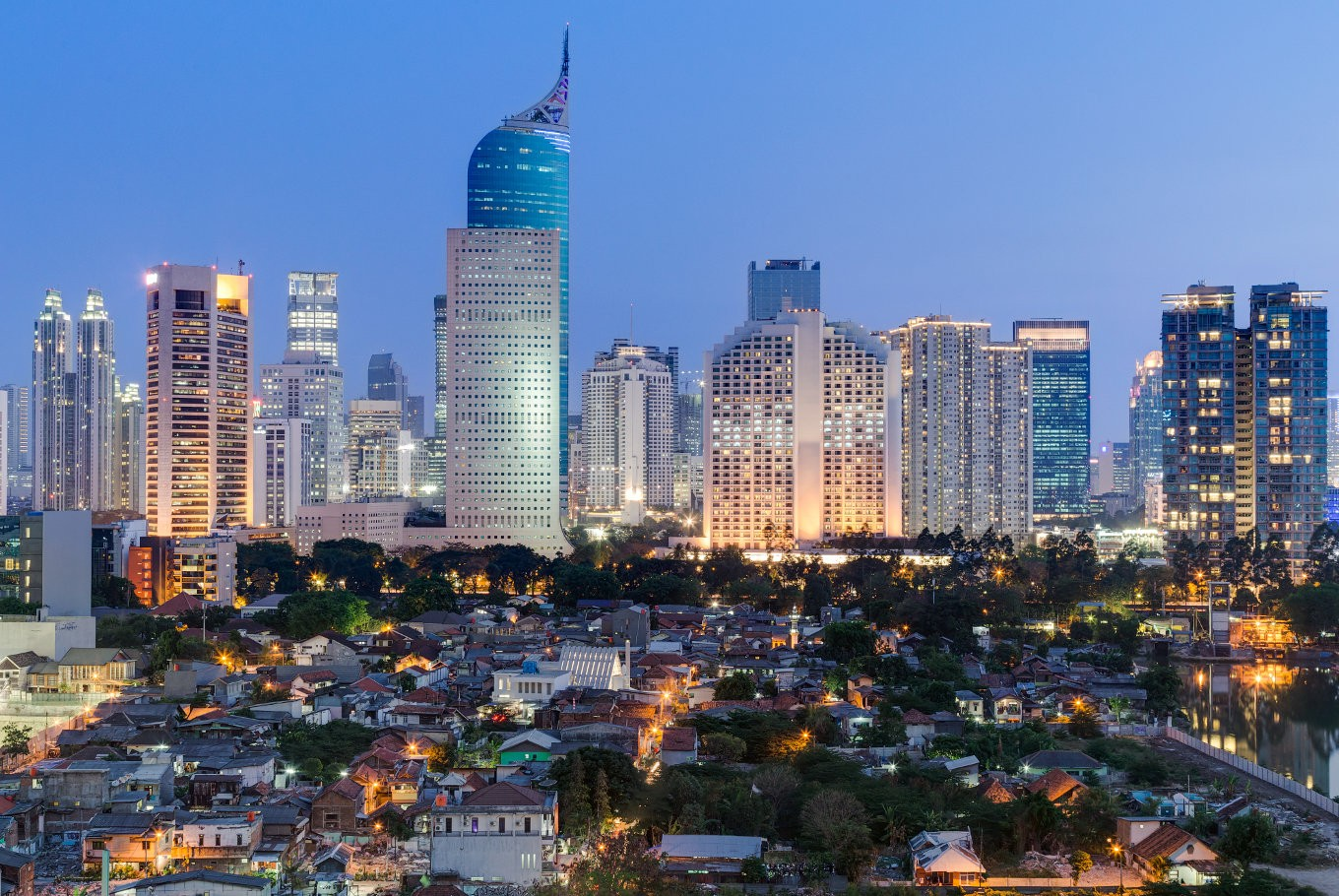Eight tallest buildings in Jakarta: Skyscraper Center