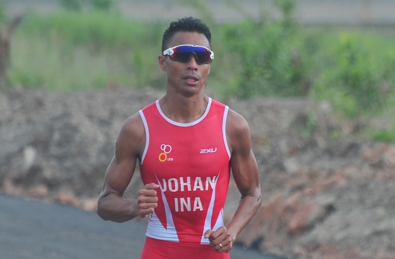 Triathlete Jauhari wants nothing less than bronze at Asian Games