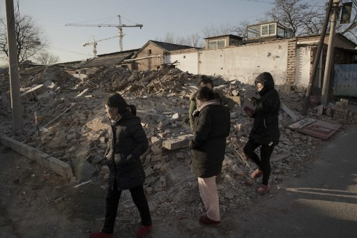 Migrant worker evictions tear at Beijing's backbone