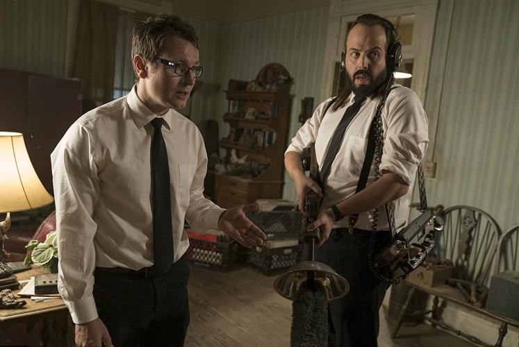 Elise's sidekicks, Specs (Leigh Whannell, left) and Tucker (Angus Sampson).