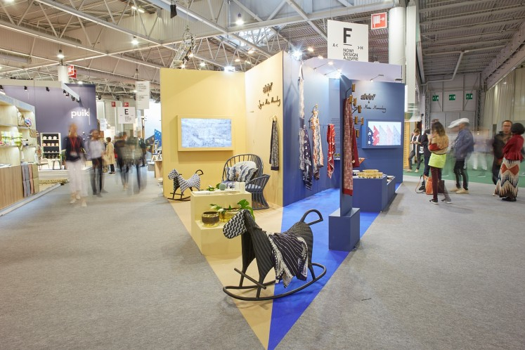 AlvinT's booth at the Maison&Objet exhibition in Paris, France, which was held from Sept. 8-12, 2017. It featured a joint collaboration with Sejauh Mata Memandang of Chitra Subijakto. The exhibition is the first time both designers represented Indonesia at the world's authority of home decor fair that connects international interior design and the lifestyle community.