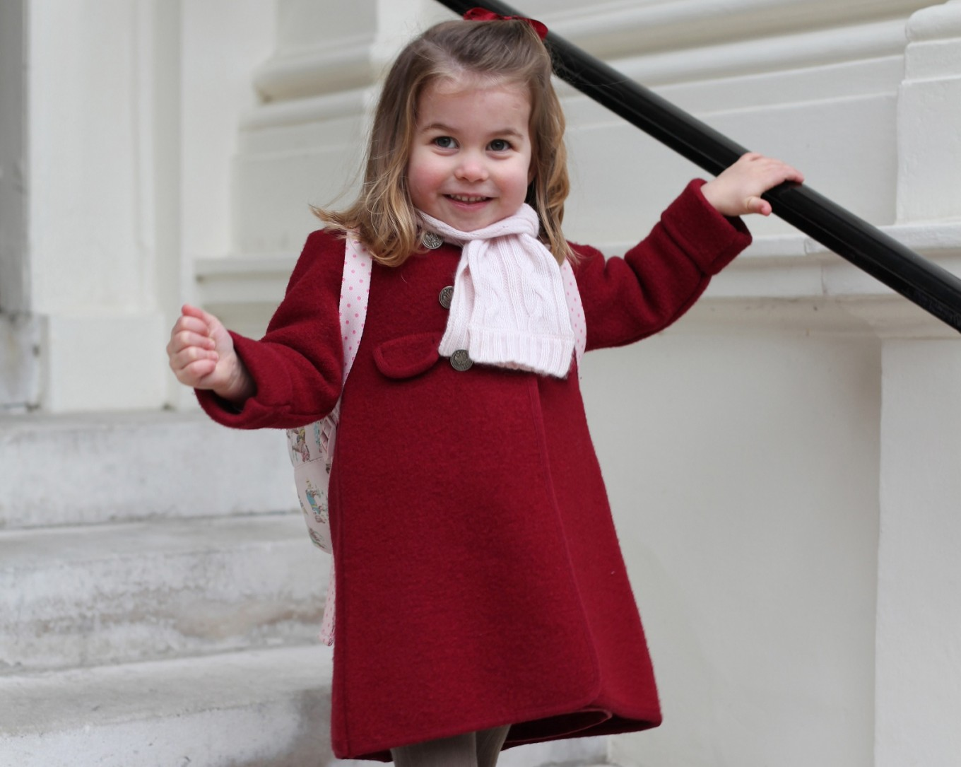 Princess Charlotte attends first day of nursery school
