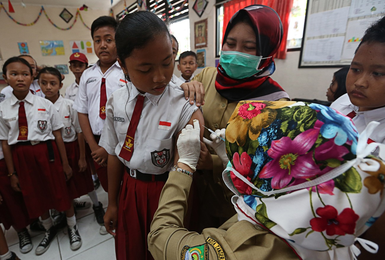 West Java to expand diphtheria outbreak response immunization
