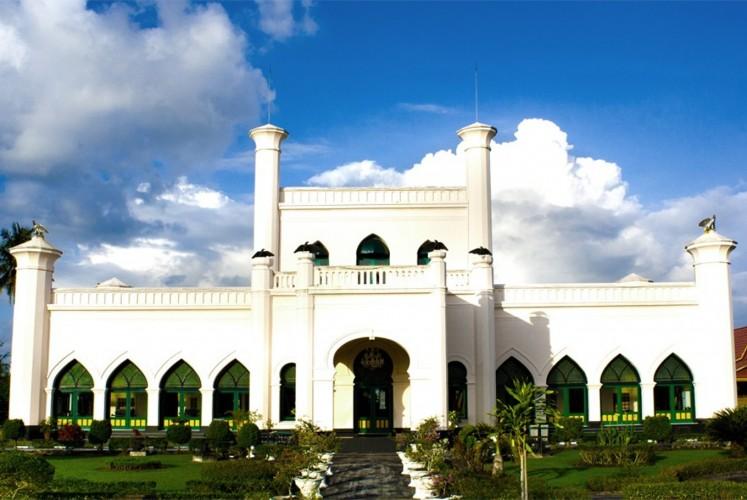 Siak Palace in Siak regency, Riau.