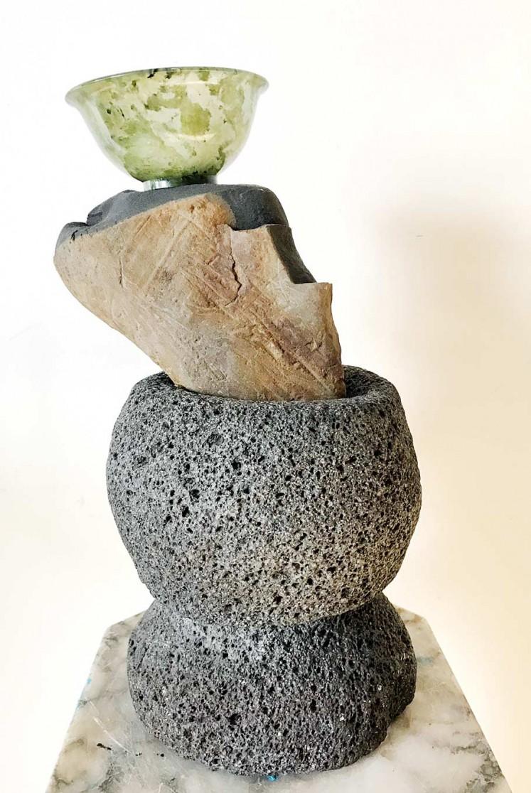 Scholar Stones #1 by Ari Bayuaji