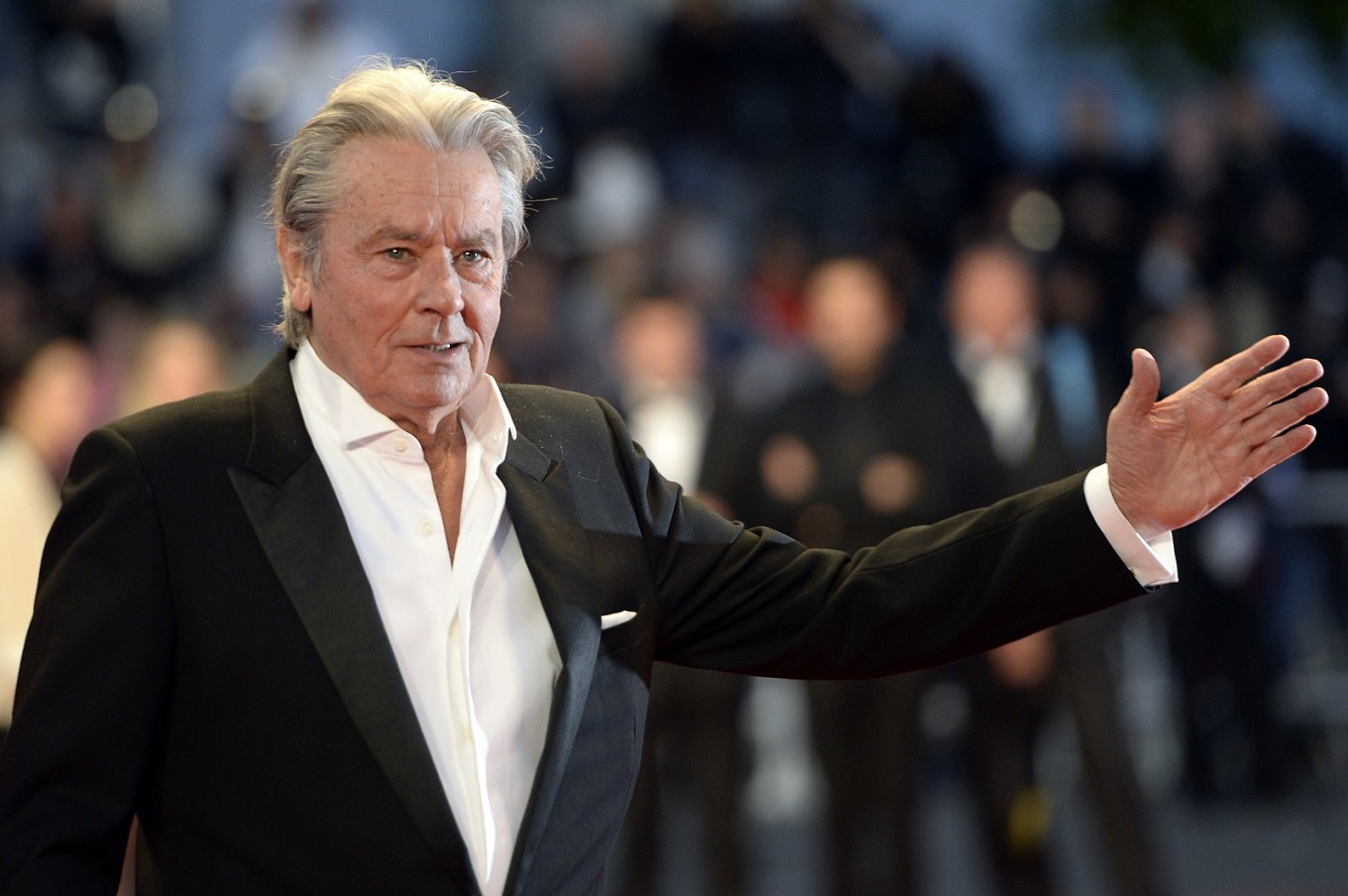 Cannes Film Festival defends award to 'imperfect' Delon