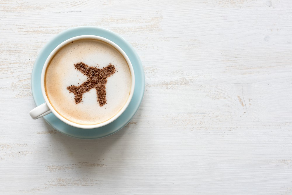 You may want to rethink that pre-flight cup of coffee