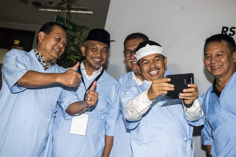 West Java voters refuse polygamous gubernatorial candidate, survey shows