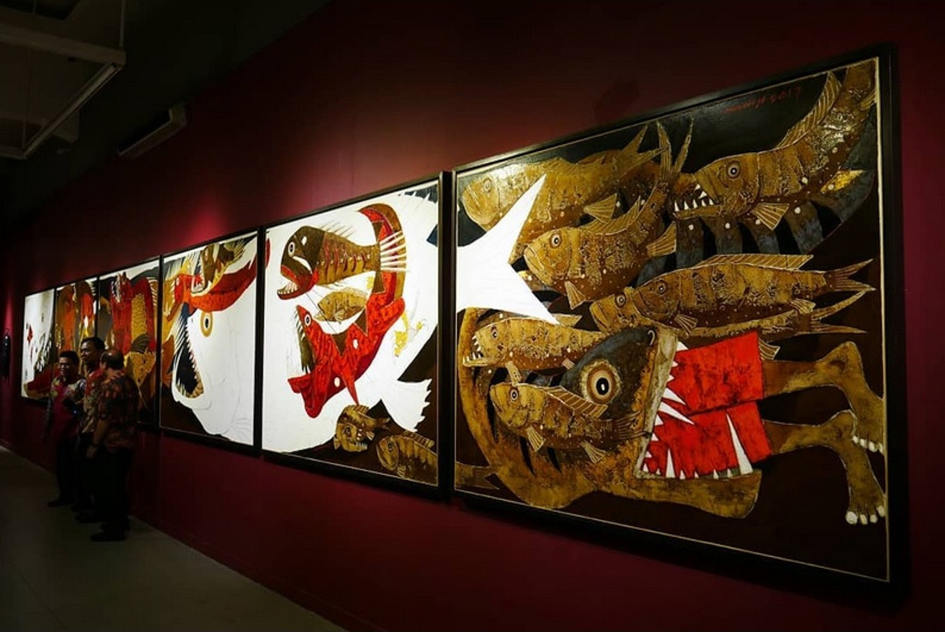 Indonesian artists' two poles collide at National Gallery exhibition