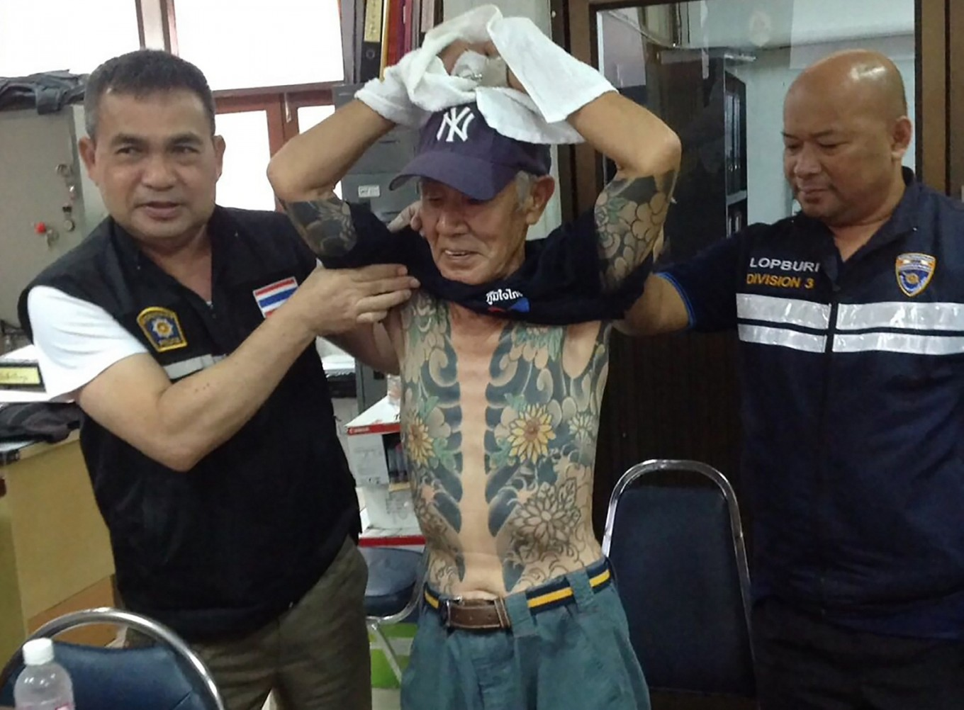 Japanese Crime Boss Held In Thailand After Yakuza Tatts