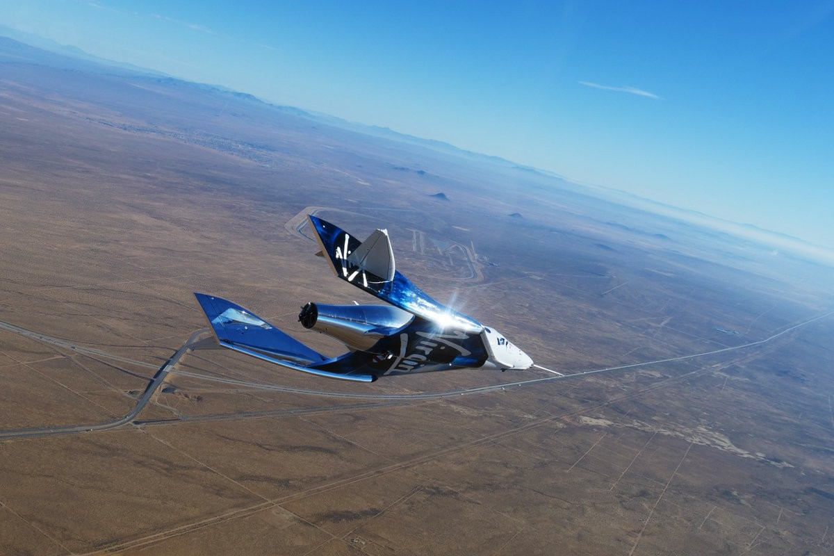 Virgin Galactic takes one step forward in space tourism