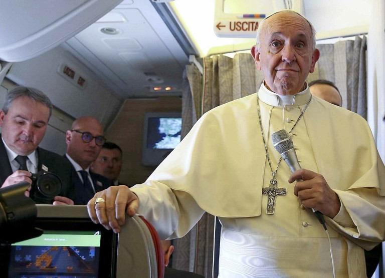 Pope declines to comment on Cardinal McCarrick allegations