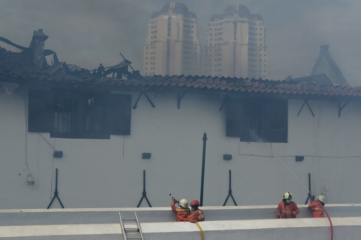 Maritime Museum catches fire on Tuesday morning