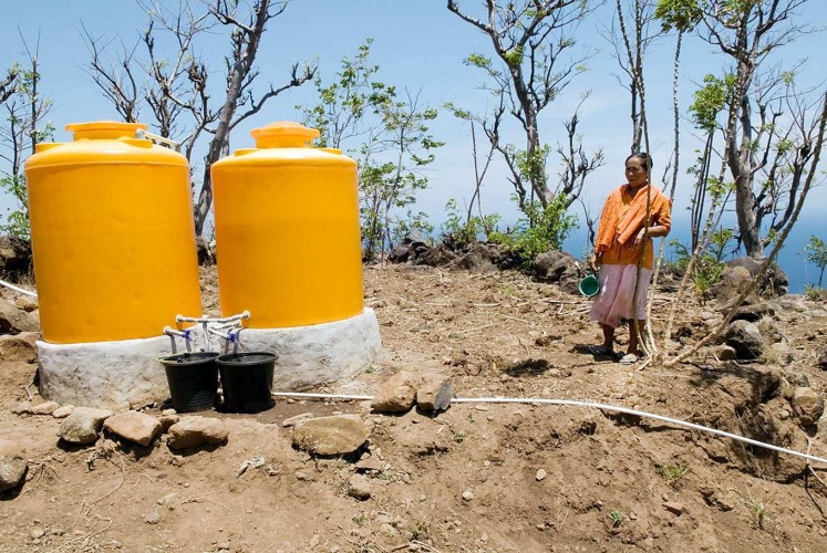 For 12 years Richard Foss has been establishing water systems in impoverished villages in east Bali, innovations that have had the power to change people's lives.