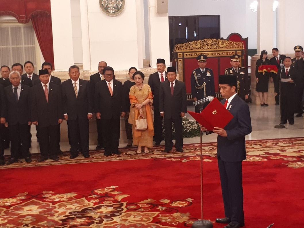 Commentary: 'Minor reshuffle' and Jokowi's own political survival