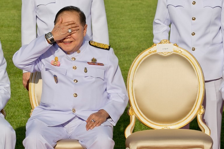 Thai general in the spotlight over luxury watches collection