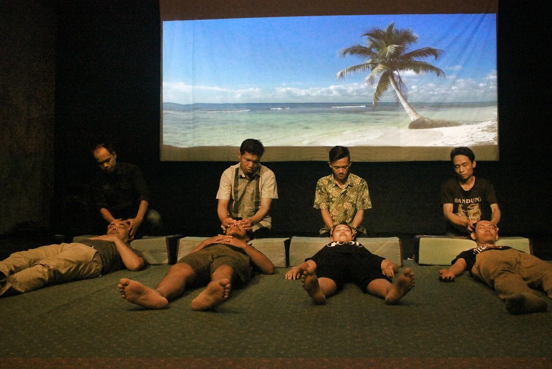 Teater Garasi's new studio, seeking alternative paths
