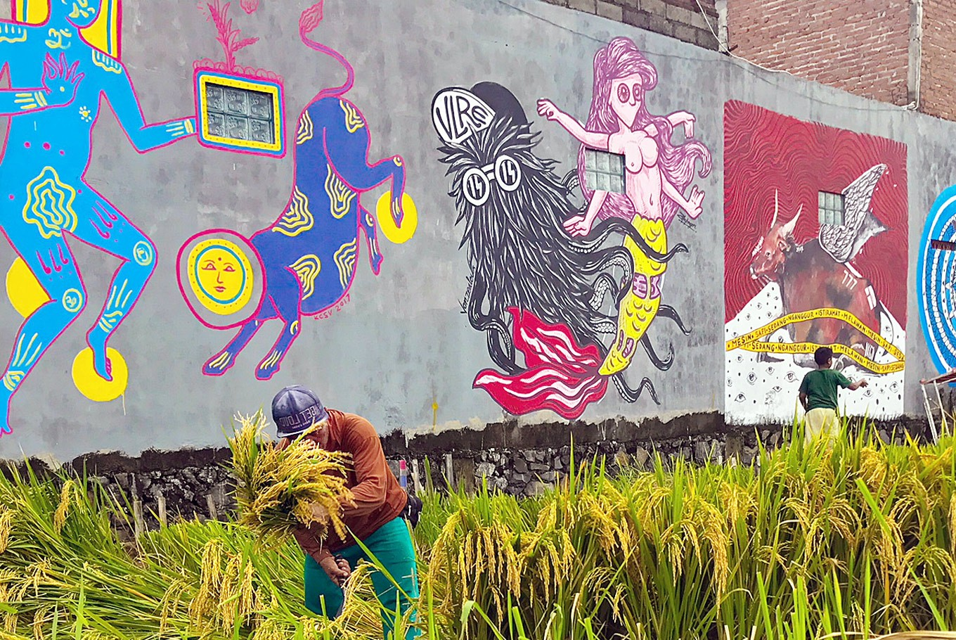 Bali's unstoppable rise of street art