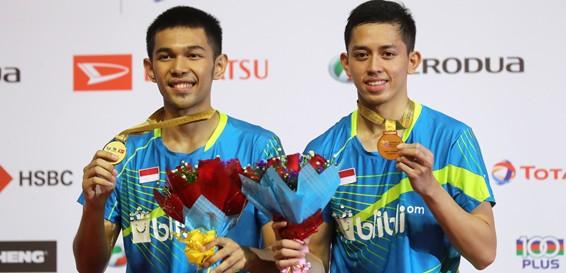 Indonesian pair Fajar, Rian win Malaysia Masters title