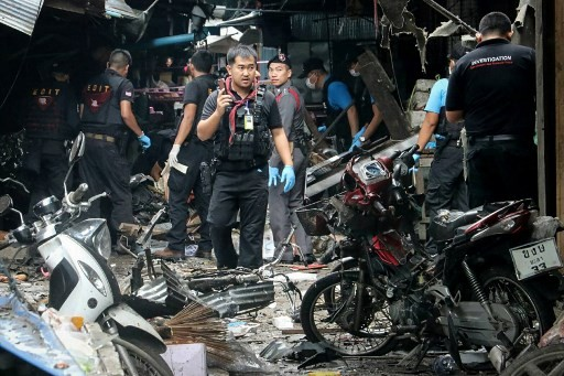 Three dead as busy market struck by bomb in southern Thailand